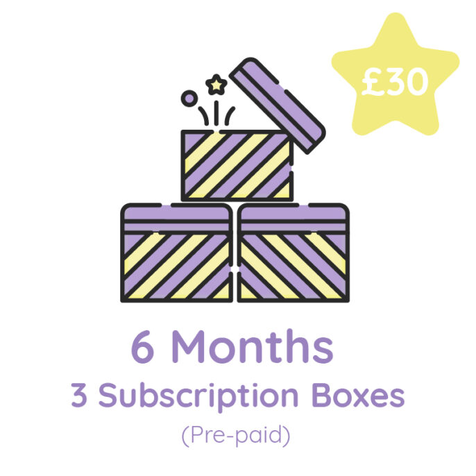 3 Boxes: Bi-Monthly Subscription