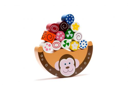 Best Years Wooden Monkey Balancing Toy