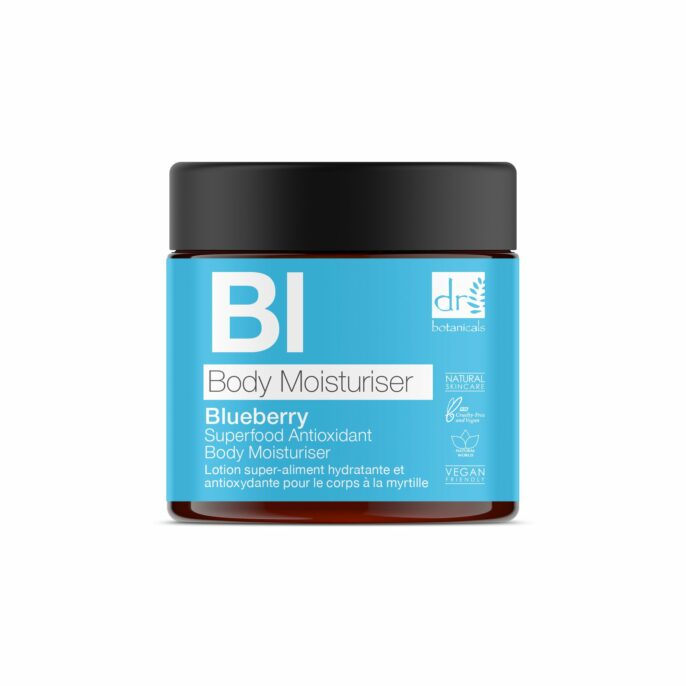 Dr Botanicals Blueberry Body Moisturiser 60ml