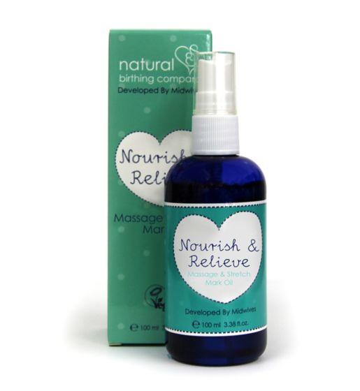 Natural Birthing Company Massage and Stretch Mark Oil 100ml